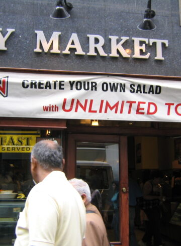 City Market Cafe Rockefeller Center