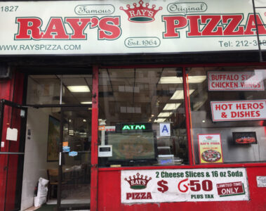 Famous Original Ray's Pizza Yorkville
