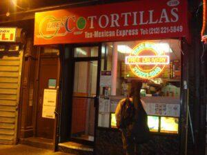 Fresh Tortillas Hell's Kitchen