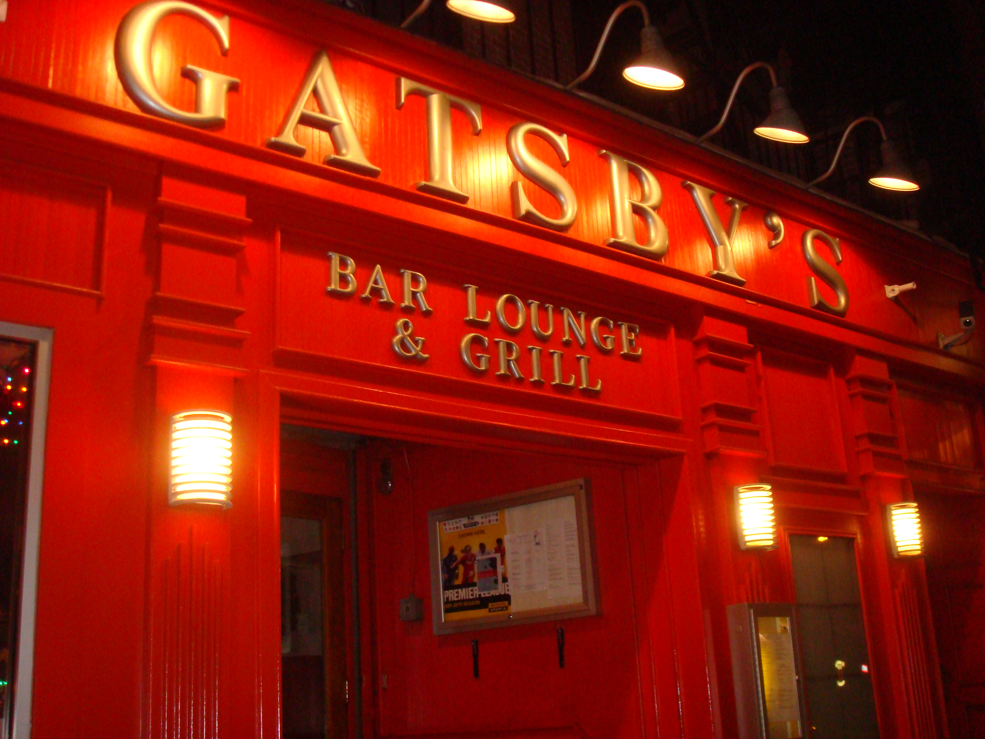 Gatsby's Bar, Lounge & Grill