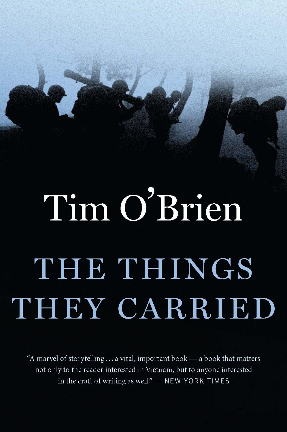 an analysis of war themes in the things they carried by tim obrien In terms of structure and style, the things they carried, breaks from the conventional first-person narrative of the vietnam memoir in fact, the book constantly shifts back and forth from first to third person.