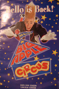 big apple circus program