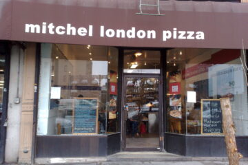 Mitchel London Pizza