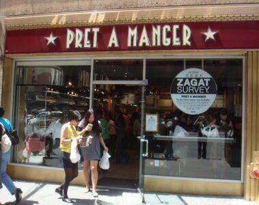 Pret a Manger Times Square