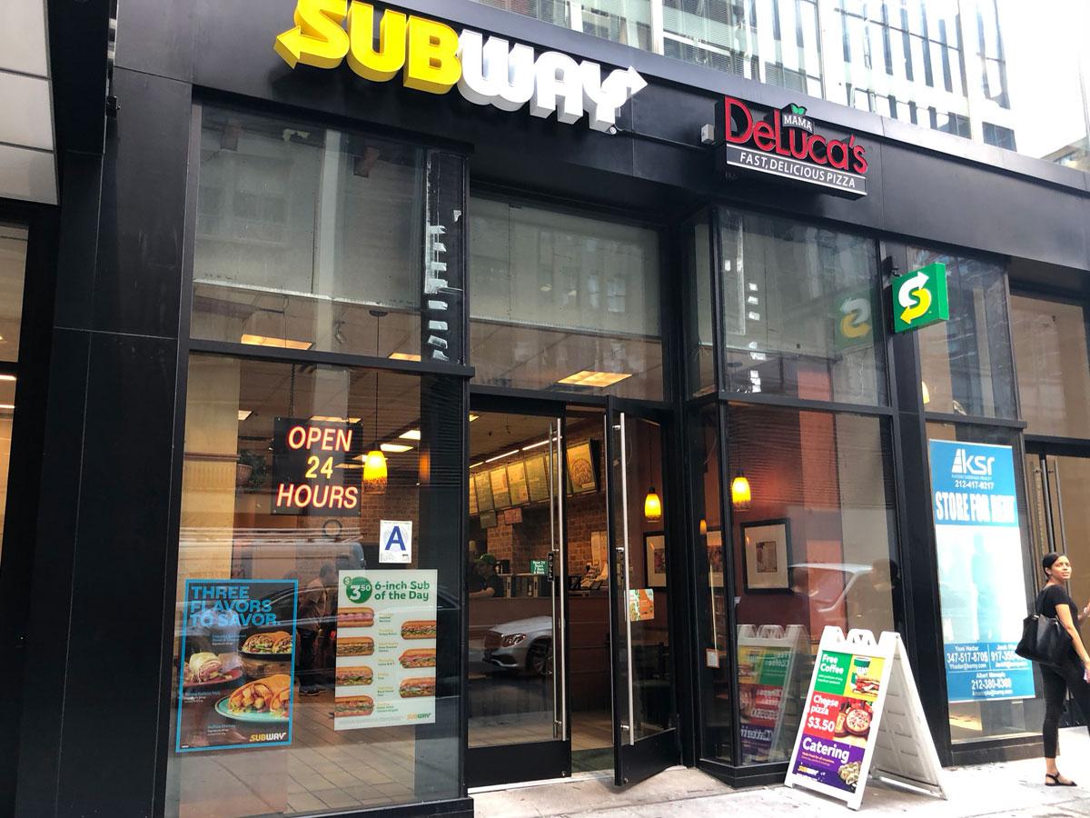 Subway Midtown West