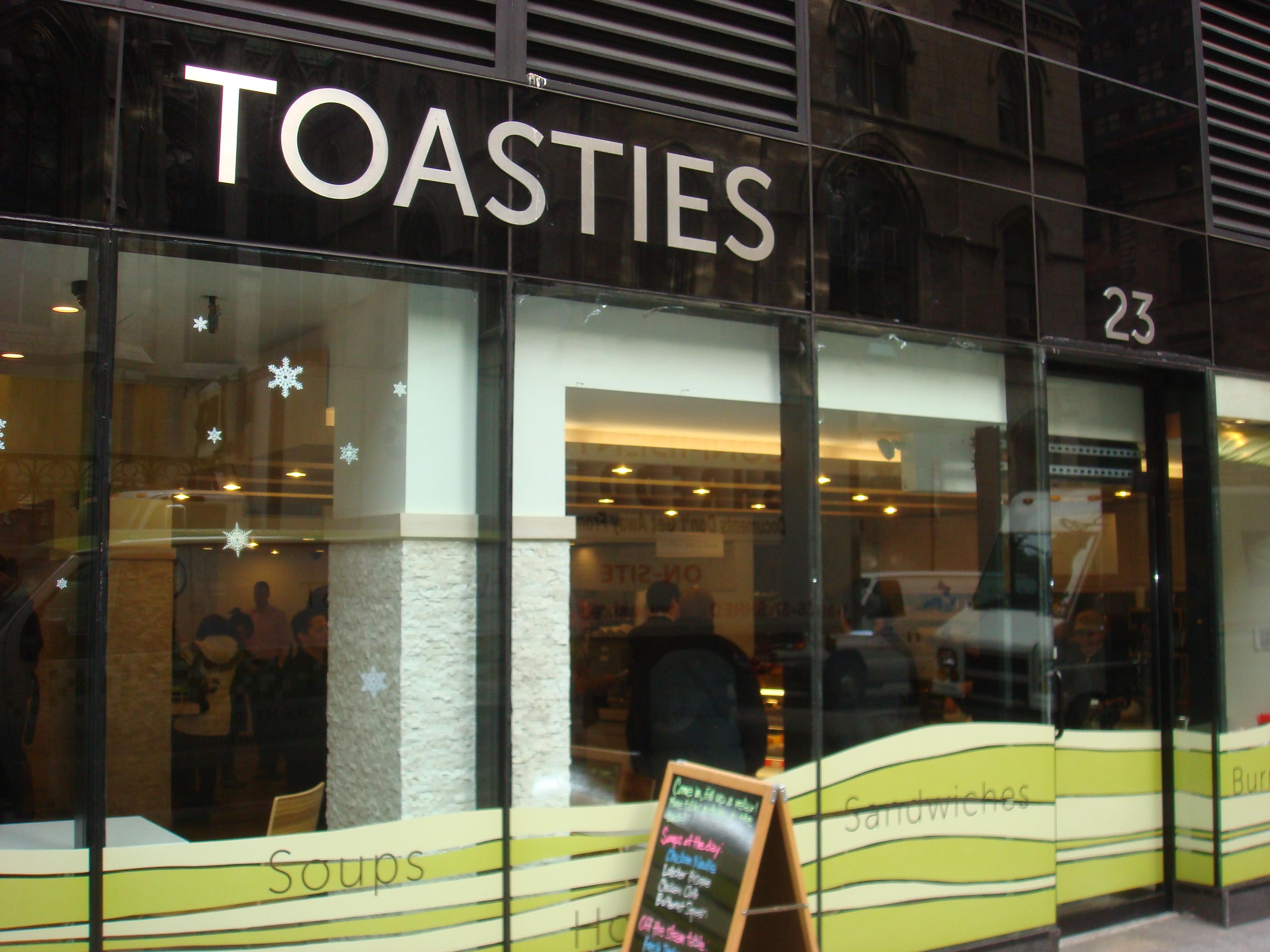 Toasties East at 48