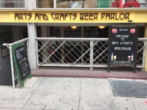 Arts and Crafts Beer Bar