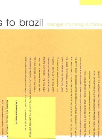 Orange Rhyming Dictionary
