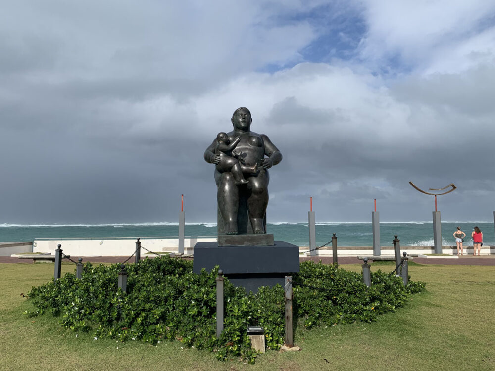 Botero Statue Condado
