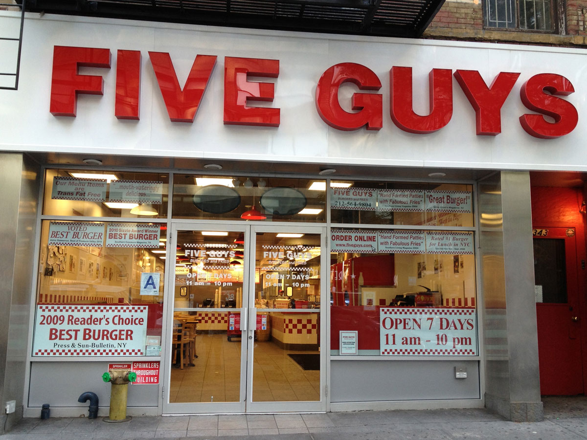 Five Guys - 7th Ave.