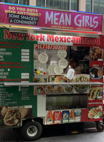 New York Mexican Food Cart