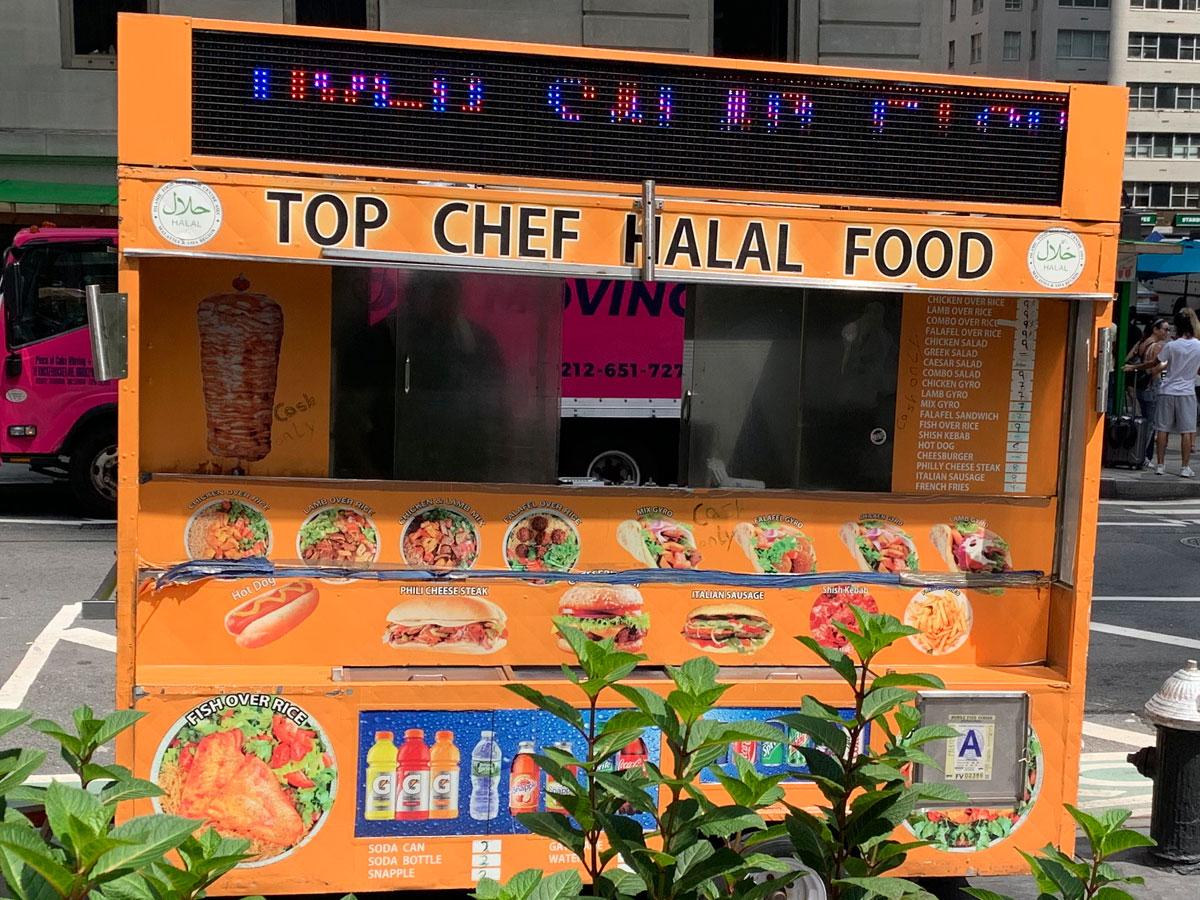 Top Chef Halal Food