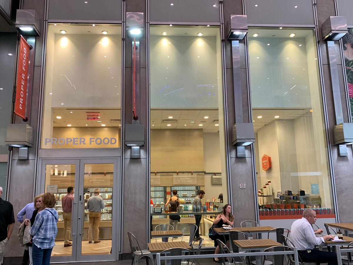 Proper Food Roc Center